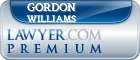 Gordon James Williams  Lawyer Badge