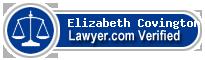 Elizabeth M Covington  Lawyer Badge