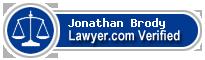 Jonathan P Brody  Lawyer Badge