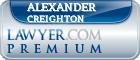 Alexander Learned Creighton  Lawyer Badge