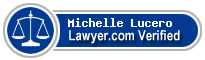 Michelle Marie Lucero  Lawyer Badge