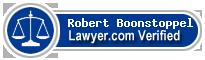 Robert J Boonstoppel  Lawyer Badge