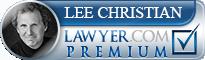Lee E. Christian  Lawyer Badge