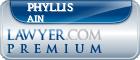 Phyllis M Ain  Lawyer Badge