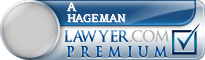 A Joe Hageman  Lawyer Badge