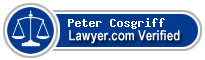 Peter Cosgriff  Lawyer Badge