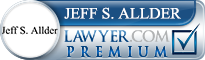 Jeff Samuel Allder  Lawyer Badge