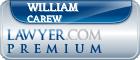 William Lamont Carew  Lawyer Badge