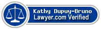 Kathy KB Dupuy-Bruno  Lawyer Badge