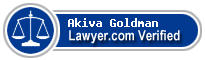 Akiva Goldman  Lawyer Badge
