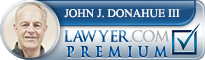John J. Donahue III  Lawyer Badge