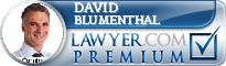 David M. Blumenthal  Lawyer Badge
