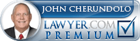 John C Cherundolo  Lawyer Badge
