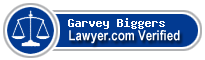 Garvey M. Biggers  Lawyer Badge