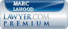 Marc A. LaHood  Lawyer Badge