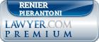 Renier Pierantoni  Lawyer Badge