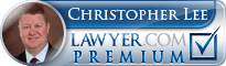 Christopher Lee  Lawyer Badge