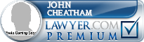 John Cheatham  Lawyer Badge