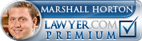 Marshall Horton  Lawyer Badge