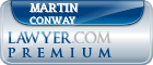 Martin C. Conway  Lawyer Badge