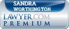 Sandra B. Worthington  Lawyer Badge