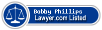 Bobby Phillips Lawyer Badge