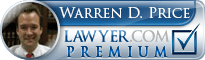 Warren D. Price  Lawyer Badge