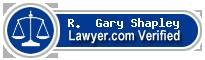 R.  Gary Shapley  Lawyer Badge