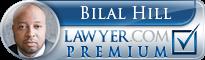 Bilal Hill  Lawyer Badge
