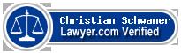 Christian Schwaner  Lawyer Badge