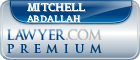 Mitchell Luke Abdallah  Lawyer Badge