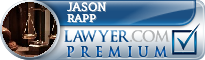 Jason Rapp  Lawyer Badge
