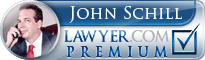John Schill  Lawyer Badge