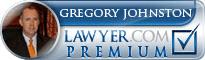 Gregory M. Johnston  Lawyer Badge
