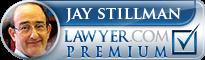 Jay Stillman  Lawyer Badge