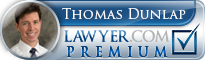 Thomas M. Dunlap  Lawyer Badge