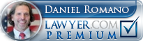 Daniel Romano  Lawyer Badge