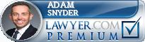 Adam Snyder  Lawyer Badge