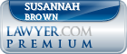 Susannah Lynn Brown  Lawyer Badge