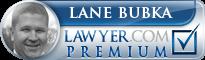 Lane M. Bubka  Lawyer Badge
