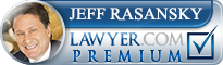 Jeffrey Howard Rasansky  Lawyer Badge