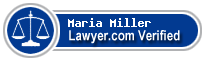 Maria M. Miller  Lawyer Badge