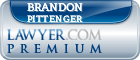 Brandon Richard Pittenger  Lawyer Badge