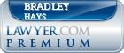 Bradley Adam Hays  Lawyer Badge