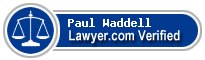 Paul D. Waddell  Lawyer Badge