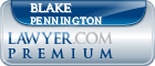 Blake Evan Pennington  Lawyer Badge