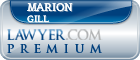 Marion Sherman Gill  Lawyer Badge
