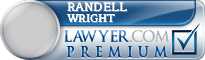 Randell Jay Wright  Lawyer Badge