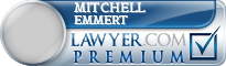 Mitchell Thomas Emmert  Lawyer Badge