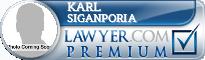 Karl Siganporia  Lawyer Badge